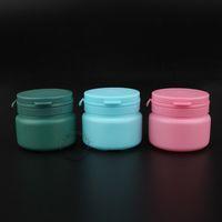 35pcs / lot gros de couleur bonbons en plastique Chewing Gum / Bouteilles Bubble Avec Arrachement Cap 120g / PP vide 3 oz containersNotre