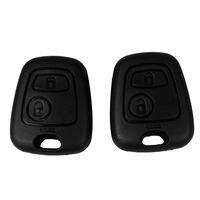 2 кнопка дистанционного ключа режиссерский автомобиль брелок брелок чехол замена Shell обложка для Citroen C1 C4 Peugeot 107 207 307 407 206 306 406