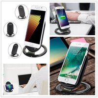 2017 neue 2 Spulen Wireless Charger Schnelle Qi Wireless Ladestation Pad für iPhone X 8 8 Plus Note8 S8 S7 S6 alle Qi-fähigen Smartphone
