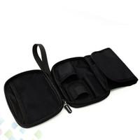 La mejor bolsa de mano de Vape para Coger en el bolso para el dispositivo E Cig y herramientas de bricolaje Pinzas de cerámica Bobina RDA Atomizadores DHL libre