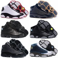 New 13 OG Black Cat Men Basketball Shoes 3M Reflect 13s Blac...