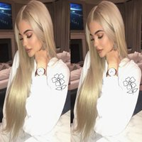 Kylie Jenner Blonde Synthetic Lace Front Wig High Quality Lo...