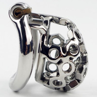 New Arrival Stainless Steel Small Male Chastity Device 50mm ...