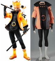 NARUTO Uzumaki Naruto Ootutuki Hagoromo cosplay cadılar bayramı kostümleri