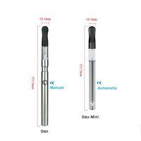 Originale autentico vaporizzatore co2 O penna vape bud dex 0,6 ml denso di olio atomizzatore con carica usb uso