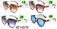 Summer New Fashion Women Popular Shining Simple Sun Glasses ...