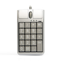 Original 2 in iOne Scorpius N4 Optical Mouse USB Keypad, Wire...