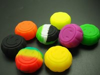 Contenitore in silicone antiaderente Forma di zucca Smoking Oil Oil Vaporizzatore Vaporizzatore Vaporizzatore DAB Contenitori 6ML