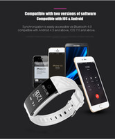 Venta caliente S2 Smart Wristband Watch Bluetooth Dynamic Heart Rate Monitor IP67 Pulsera impermeable Fitness Step Counter para Android IOS Phone