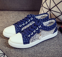 Women Canvas Shoes 2017 Spring New Low Fashion Beautiful Bre...