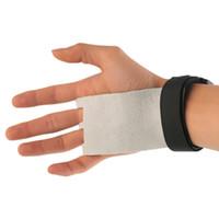 CrossFit Grips Leder Palm Protektoren Hand Wachen Gewichtheben Hebelgriffe Gymness-Handschuh Ziehen Sie den Aufzug
