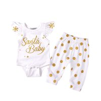 Baby Clothes Girls Clothing Sets Christmas Romper and Pants ...