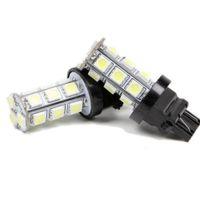 100 stücke T20 18-SMD 5050 LED Stopp Schwanz Bremse Rückunterstützungsauto Licht Blinker Lampe Lampe