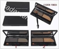 New Professional Makeup Eyes 2 Colors Eyebrow Powder Eyebrow...