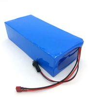 Zoll Zoll hohe Qualität DIY 48V 15Ah Li-Ion Akku Pack mit 2A Ladegerät, BMS für 48V 15Ah Lithium-Batterie Pack