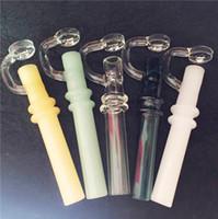 Labs Glass Taster 흡연 미니 담배 오일 왁스 파이프 농축 테스터 10mm 붕 규소 튜빙