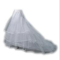 Hochzeitskleid Kapelle Zug PETTICOAT Festzug Krinoline Prom Kleid UNDERSKIRT LY1528