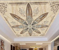 customize 3d murals wallpaper for ceilings Simple atmosphere...
