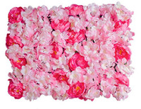 flower wall Silk rose tracery wall encryption floral backgro...