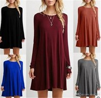 Fashion Dresses for Women Dresses Long Sleeve Autumn Casual ...
