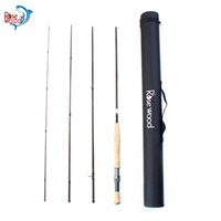 RoseWood High Performance 4- Piece Fly Rod Traveller, 9'...