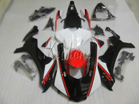 Carenados de moldeo por inyección para Yamaha YZF R1 09 10 11 12 13 14 blanco negro kit de carenado para motocicleta YZFR1 2009-2014 OR22