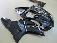 Piezas de carenados de golpe negro de la suerte para YAMAHA YZFR1 2000 2001 YZF1000 00 01 YZFR1 1000 YZF R1 00 01 kit de carenado de reparación de la carrocería de la motocicleta