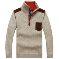 Neue Mode Pullover Neue Herbst Winter Herren Strickjacke Strickjacken  Wollmischung Thicken Slim Fit gestrickte Herren Pullover 3b3317784c