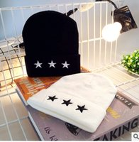 Hot Sale New Autumn winter Unisex hats five- pointed star woo...