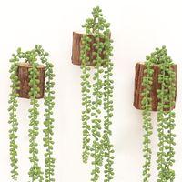 76см зеленая искусственная сочная лоза для украшения свадьбы, украшения партии, хеллоуин украшения, настенные рождественские украшения