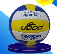 Volleyball Size 5 Game Thickened Soft PU Volley Ball LYDOO B...