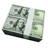 100PCS USA New $100 Dollars Movie Props Money Bank Staff Tra...