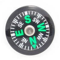 OPP Bag 20mm Diameter Button Mini Compass Plastic Mini Butto...