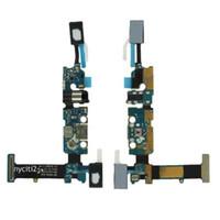 100% Orijinal Yeni USB Şarj Dock Şarj Noktası USB + MIC Samsung Galaxy Için Flex Kablo Yuvası NOT 5 N920A N920V N920T N920F N920P