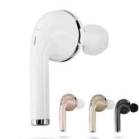 Groothandel v1 mini bluetooth oortelefoon CSR4.1 draadloze muziek handsfree auto driver headset telefoon stealth oordopjes met microfoon microfoon doos