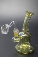 Glass Water Pipes Mini Glass Bong Color Dab oil Rigs Percola...