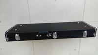 カスタムブラックレザーハードケースハードシェルケースエレキギターハードケースプリンスクラウドプリンスシンボルエレクトリックギター