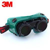 3M 10197 Safety Potive Lassen Goggles Bril IR 5.0 Krasbestendige Anti-UV-coating Echte werkende ogen Beschermend
