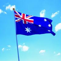 جديد 90x150 سنتيمتر الكبير أستراليا العلم البوليستر و الاسترالي راية ديكور المنزل