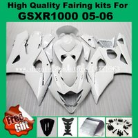 حقن حقن ل SUZUKI GSXR1000 05 06 GSX-R1000 05 06 Fairing kit GSXR 1000 2005 2006 K5 K6 Fit ABS