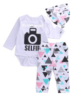 37000e386bf ... Cotton baby boy clothes Boys Clothing Sets 3pcs short sleeve shirt  +Shorts pants + bib Infant Suit Newborn Clothing A2086. US  11.82   Set.  New Arrival
