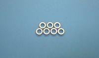 Cristal d'anneau piézoélectrique anneaux en céramique ultrasoniques de puces piézo-électriques 10 * 5 * 2-PZT4-C pour le nettoyage par ultrasons du cristal PZT de transducteur de nettoyage