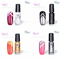 Wholesale- Quick- drying stamp gel Nail Polish, Fluorescent N...