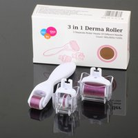 1Set 3 in 1 Derma Roller Kit With 3 Separate Roller Heads of...
