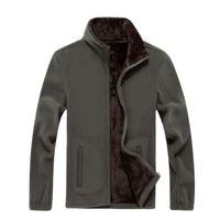 2019 Nuova giacca per uomo Softshell in pile Giacche casual uomo calda felpa caldas termica cappotti termici solidi abbigliamento di marca addensato SA041