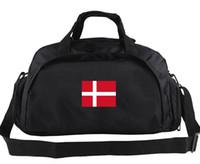 Dänemark Seesack Tragetasche für Feld- und Bahnspiele Alltagsrucksack Fußballgepäck Sport-Umhängetasche Outdoor-Tragetasche