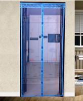 fenêtre de l'écran magnétique rideau contre - chambre maringouins - aimant de qualité doux rideau de porte rideau salon de voilages