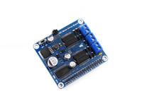 Freeshipping RPi 모터 드라이버 보드 DIY Mobil Robot / Stepper 모터 드라이버 용 Raspberry Pi A + / B + / 2B / 3B 확장 DC 모터 보드
