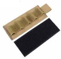 Fit for Airsoft Tactical Molle Shell Holder Shotgun Bullets ...