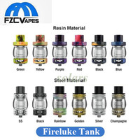 Authentique Freemax Fireluke Sub Ohm Tank RTA First Resin Atomizer 4ml / 5ml Remplissage supérieur 25mm Diamètre Vape Tank 100% Original